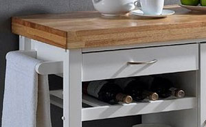 Drink Cart Wine Rack