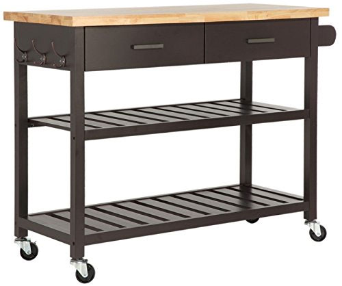 Homegear Modern Kitchen Island Cart
